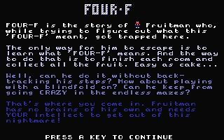 Atari ST Four-F : scans, dump, download, screenshots, ads